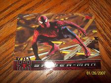 SPIDER-MAN MOVIE CARDS PROMO P2