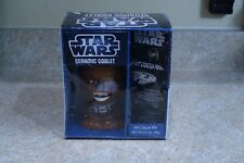 NEW STAR WARS Chewbacca Ceramic Goblet & Hot Cocoa Mix Brown Sealed Rare Collect