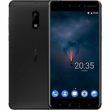 Nuevo Nokia 6 Octa-Core Dual SIM Android 7.0 Smartphone 4GB RAM + 32GB Negro