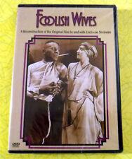 Foolish Wives ~ New DVD Movie ~ 1922 Erich Von Stroheim Mae Busch