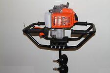 "Brand New 3HP KASEI 63cc Earth Auger Single Man Gas Post  Digger EPA w 8"" bits"