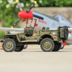 1:6 Rochobby RC Car Jeep 2.4G 2CH 1941 MB Scaler Radio Control with Transmitter