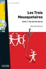 Les Trois Mousquetaires Tome 1 + CD Audio MP3 (Lff (Lire En Francais Facile)), V