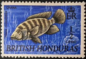 Stamp British Honduras SG276 1969 1/2c Fish - Mozambique Tilapia Mint Hinged