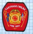 "Fire Patch -Carthage / Wilna New York 4 1/2"""