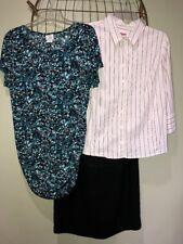 Mixed Lot Maternity Clothing Women's M, 6, L