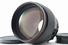 【B V.Good】 Canon New FD NFD 85mm f/1.2 L MF Lens w/ Caps From JAPAN #3177