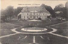 LOUVOIS le château le parterre jardin écrite