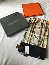 GUCCI %100 AUTHENTIC SILK SCARF PURCHASeD From GUCCI In California