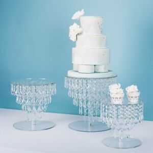 Wedding dessert acrylic display stand multi-layer cake stand