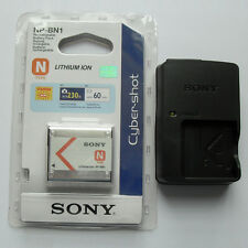 NP-BN1 Battery & BC-CSN Charger For Sony DSC-TX5 TX7 TX9 T99 W310 W320 W350 W380