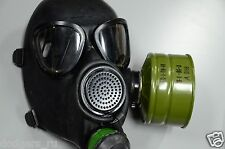 New Vintage Russian, Soviet Army Gas Mask PMK Black Full Set, Made in 198*