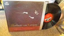 Herbert von Karajan LP Opera Intermezzi Angel 35793 Philharmonia Orchestra Rare