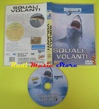 DVD SQUALI VOLANTI 2002 110 MINUTI discovery channel DIGITAL ADVENTURE no (D4)
