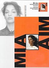 MIA - m.i.a. - aim   - Postkarte / flyer 2016