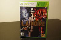 L.A. Noire (Microsoft Xbox 360, 2011) New / Factory Sealed