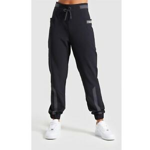 Gymshark Box Utility Jogger Athletic Pants Black Womens Size M Medium