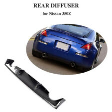 Carbon Fiber Rear Bumper Diffuser Lip for Nissan 350Z Coupe Convertible 03-06
