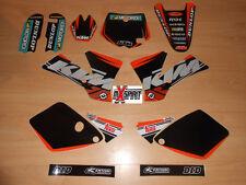 Kit déco intégral moto cross pour KTM SX 65 SX65 ( 2002 à 2008 ) Haute Qualité
