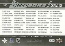 15/16 UD SERIES 2 YOUNG GUNS ROOKIE RC LOT (10) NO DUPLICATES