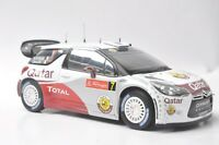 Citroen DS3 WRC 2012 car model in scale 1:18
