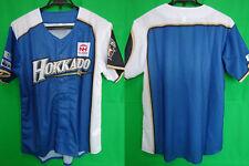 2014 Hokkaido Nippon Ham Fighters Baseball Summer Jersey Shirt Mizuno NPB NEW