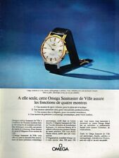 C - Publicité Advertising 1964 La Montre Omega Seamaster De Ville