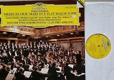 Schubert fiera mass Vienna Filarmonica credesse LP DG DIGITAL 423088-1 NM