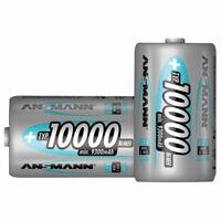 Ansmann 5030642 D - Pack of 2 10000mAh NiMH Cell