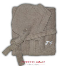 SOLO MIO BASIC Accappatoio personalizzato con iniziali ricamate - Cieffepi Home