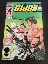Gi-joe#52 Awesome Condition 7.0(1986) Mike Zeck Cover!!