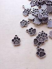 Lagerräumung! 30 x Pfoten Schmuckanhänger ♥ Hund Katze Bär Tatze Lagerräumung!
