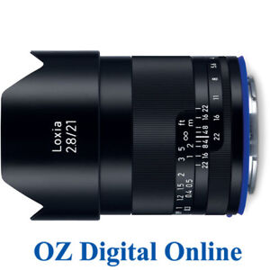 NEW Carl Zeiss Loxia 21mm F/2.8 for Sony E mount f2.8 Lens 1 Year Aust Wty