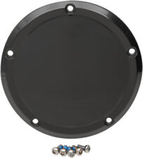 Drag Specialties Gloss Black Derby Cover Transmission Accent 16+ Harley Touring