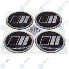 4x ADESIVI OPEL WHEEL HUB CAPS 56mm 4 PZ in alluminio nero argento in fibra di carbonio
