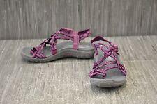 **Skechers Reggae Happy Rainbow 40881 Sandal - Women's Size 6, Purple