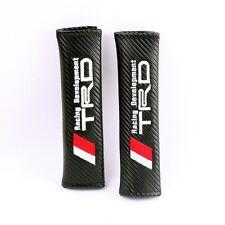 Carbon Fiber Embroidery Seat Belt Shoulder Pad Cushions T RACING DEVELOPMENT
