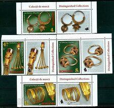 2017 GOLD Jewelry,Earrings,Bell pendants,Snake head,Museum,Romania,7224,TAB/R/NH