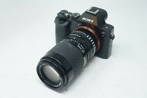 SONY E MOUNT ADAPTED 70-210MM Sigma ZOOM LENS ALL A7 NEX,A6000