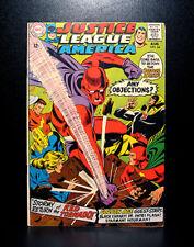 COMICS: Justice League of America #64 (1968), origin & 1st SA Red Tornado app