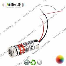 Red Laser Diode Module 135 mm Focusable Lentille 650 Presque comme neuf 5 mW 4.5-5V ligne droite