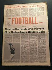 1971 Football News NFL Playoffs BALTIMORE Colts UNITAS AFC NFC Championships
