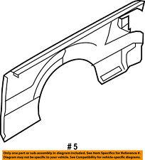 FORD OEM 09-14 F-150 Rear Fender Quarter Panel-Bed Right 9L3Z9927840A