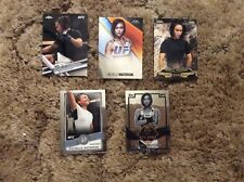 MICHELLE WATERSON 2017 Topps Chrome UFC 5 Card Lot All Diff (sku439)