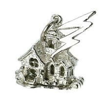 STERLING SILVER OPENING HAUNTED HOUSE CHARM