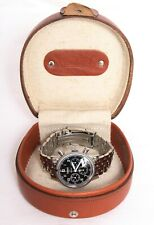Hanhart Sirius Automatic Pilot's Chronograph 28 jewel Wristwatch C898 Valjoux