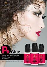 Eyelash Extension Glue Volume Or Individuals Macy P+ Fast Dry 6 Weeks Retention