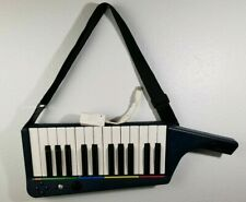 Nintendo Wii Rockband 3 Clavier Keyboard Wireless W/Strap & Dongle Tested Works
