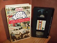 Herbie goes to Monte Carlo  - Rare Disney Vhs Pre cert