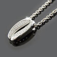 FOSSIL Halskette Damen Kette Collier DELICATE Silber Zirkonia Schmuck JFS00038